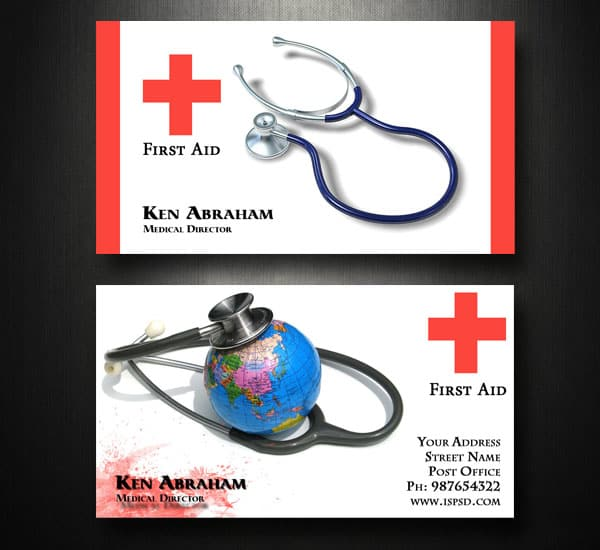 Medicalbusinesscardtemplatepg file format cheaphphosting Image collections