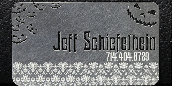 metal business card 30+ Awesome Metal Business Card Designs