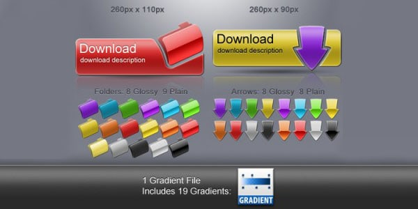 mixnmatch download 20+ Free PSD Upload Download buttons