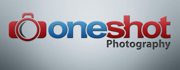 one shot photography 80+ Cool Photography Logos