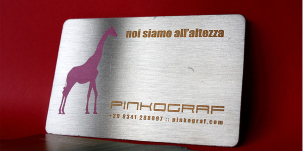 pinkard 30+ Awesome Metal Business Card Designs