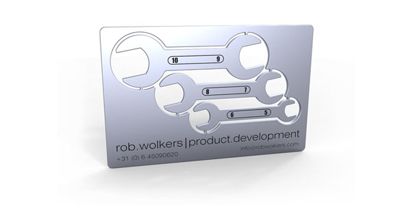 30 awesome metal business card designs metal business cards reheart Gallery