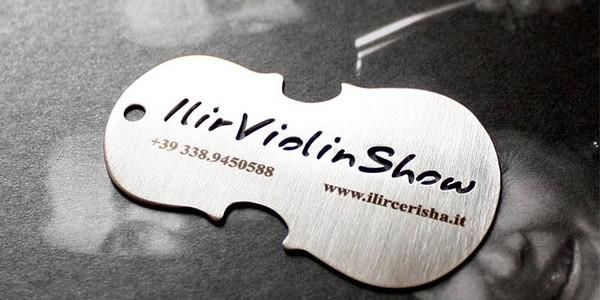 unique-metal-business-card-ilir-violin-show