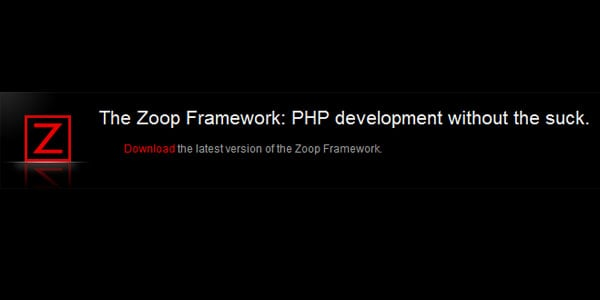 zoop Popular PHP Frameworks For Easy Coding