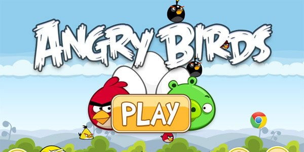 Angry Birds 15 Google Chrome Apps For your Entertainment