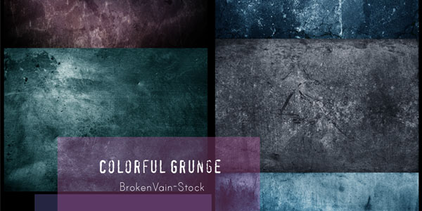 Colorful Grunge Pack Awesome Grunge Background Textures and Grunge Textures