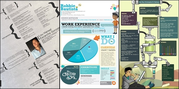 30 creative designer resumes to grab attention