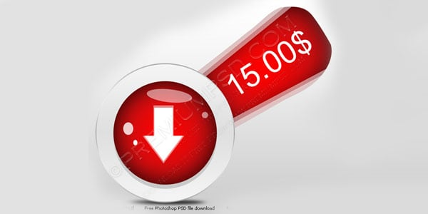 Download Price button 20 Free Price Tags PSD | Pricing Templates