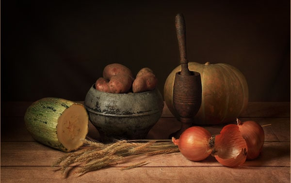 Modest gift of autumn 40 Cool Examples of Still Life Photography