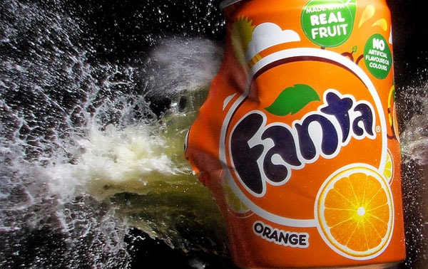 Orange Fizz 50 Cool Examples of High speed Photography