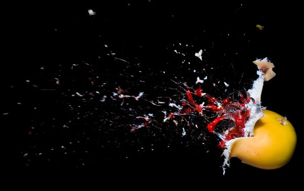 Passion Fruit Death 50 Cool Examples of High speed Photography