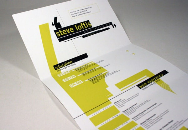 Self Promotional Package 30+ Creative Designer Resumes to Grab Attention
