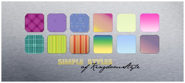 SimpleStyles by KingdomStyle 600+ Free Photoshop Layer Styles