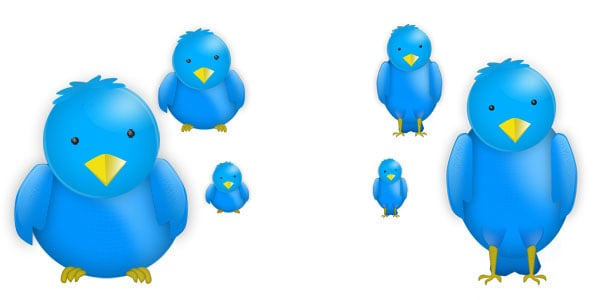 Twitter Bird Icons 25+ Free Twitter Icons Pack