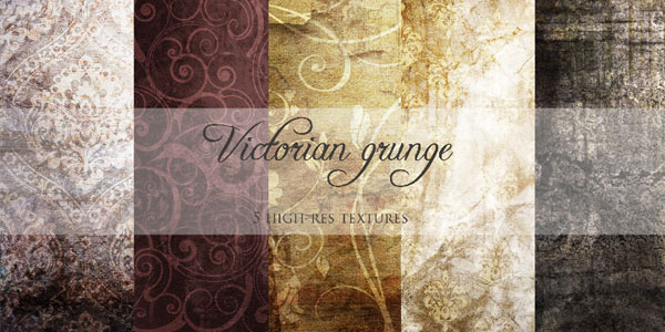 Victorian Awesome Grunge Background Textures and Grunge Textures
