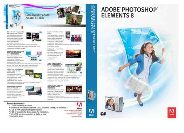 adobe photoshop elements 80 r1 front cover 9188 Top 10 Image Editing Softwares