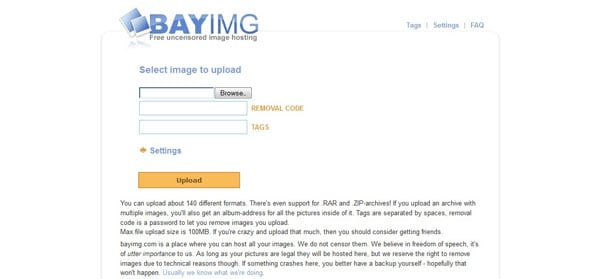 bayimg 15 Top Free Photo Sharing Websites