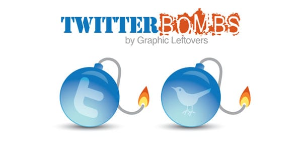 bombs 25+ Free Twitter Icons Pack