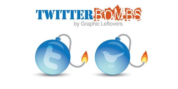 twitter bomb icons