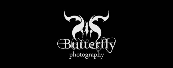 butterfly 80+ Cool Photography Logos
