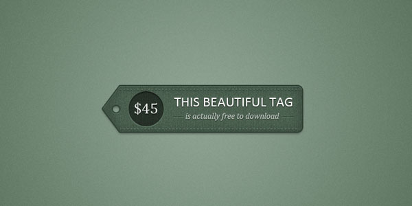 detailed pricetag 20 Free Price Tags PSD | Pricing Templates