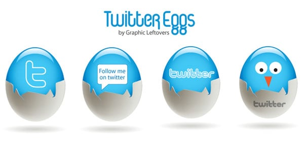 eggs 25+ Free Twitter Icons Pack