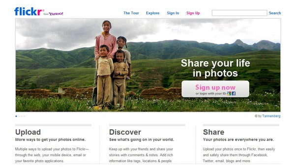 flickrr 15 Top Free Photo Sharing Websites