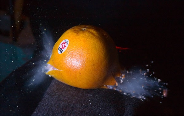 grapefruit 50 Cool Examples of High speed Photography