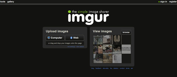 imgur 15 Top Free Photo Sharing Websites