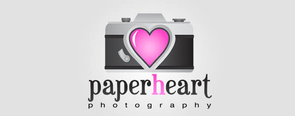 paperheart 80+ Cool Photography Logos