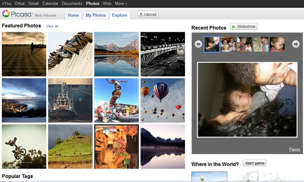 picasaweb album 15 Top Free Photo Sharing Websites