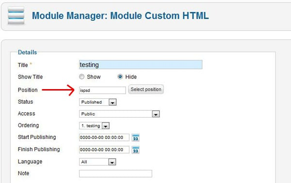 position How to use Joomla Loadposition Plugin ?