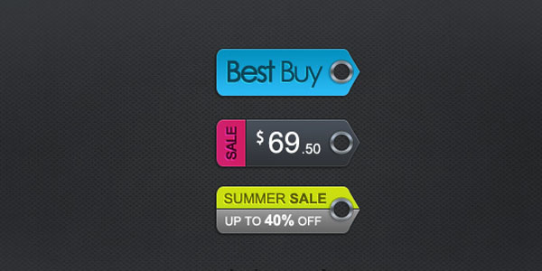 price tags1 20 Free Price Tags PSD | Pricing Templates