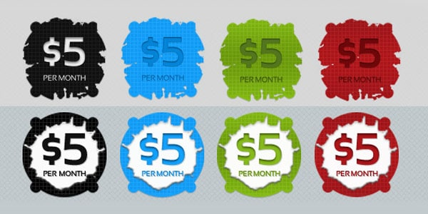 priceButtons PSD featured 20 Free Price Tags PSD | Pricing Templates