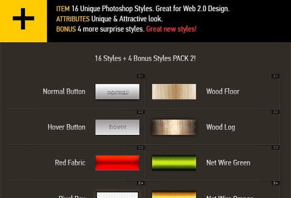 pscustom styles 113 600+ Free Photoshop Layer Styles