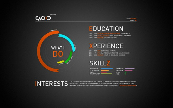 resume by ap 3 d2zryh6 30+ Creative Designer Resumes to Grab Attention