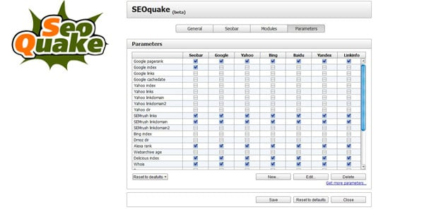 seoquake 10 Must Have Firefox Plugins