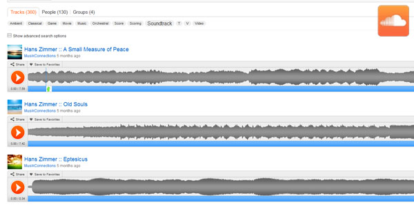 soundcloud 15 Google Chrome Apps For your Entertainment