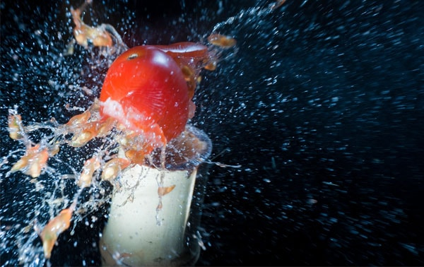 tomato 50 Cool Examples of High speed Photography