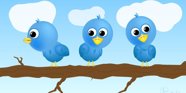 tweeties free twitter icons1 25+ Free Twitter Icons Pack