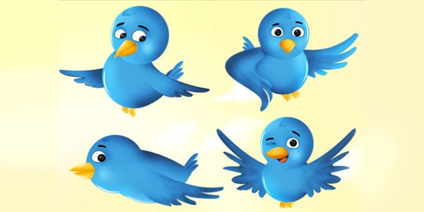twitter birds 1 25+ Free Twitter Icons Pack