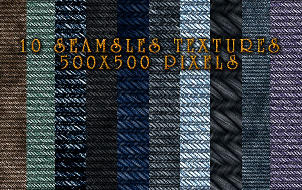 10 Denim Textures 25+ High Quality Jeans Textures