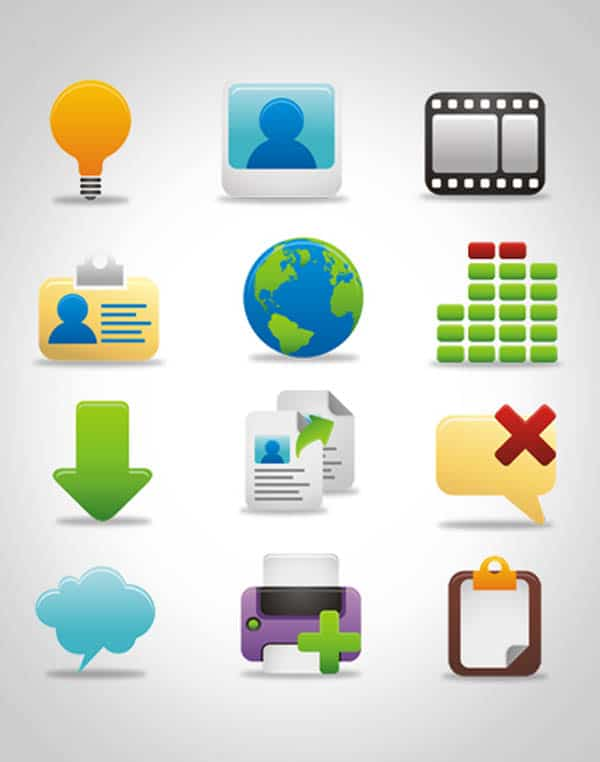 1100 20+ Free Useful Icon Collections