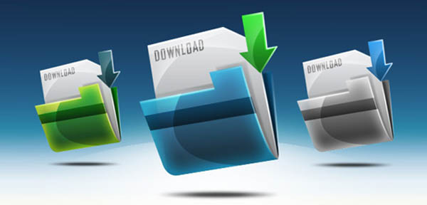11 icon design download folder 20 Cool Icon Design Photoshop Tutorials