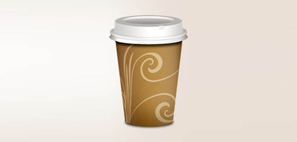 12 icon design takeout coffee 20 Cool Icon Design Photoshop Tutorials