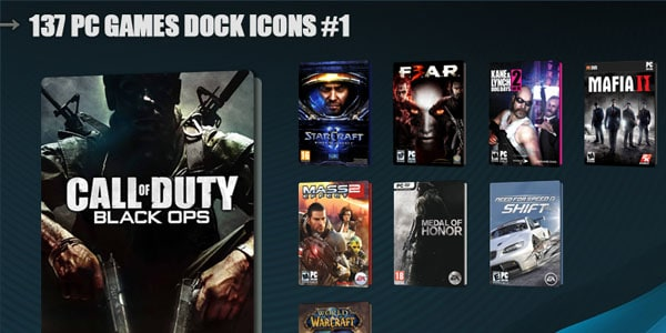 137 PC Games Dock Icons 100+ Free ObjectDock Icons