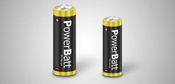 17 icon design battery 20 Cool Icon Design Photoshop Tutorials