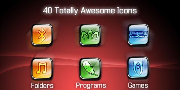 40 Icons 100+ Free ObjectDock Icons