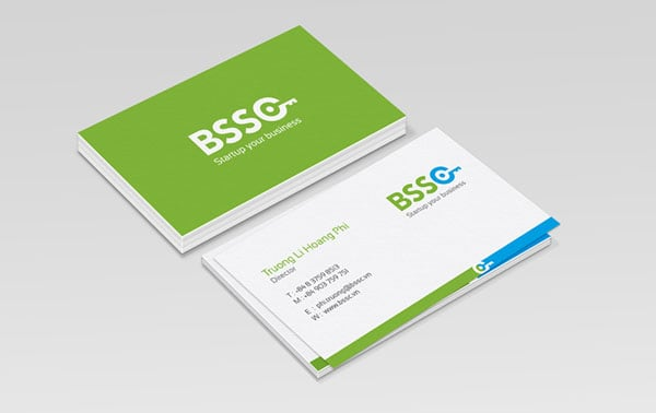 minimal business cards