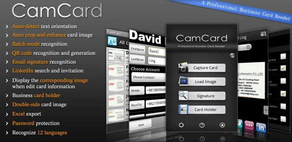 CamCard android apk Top 6 Productivity Apps for Android